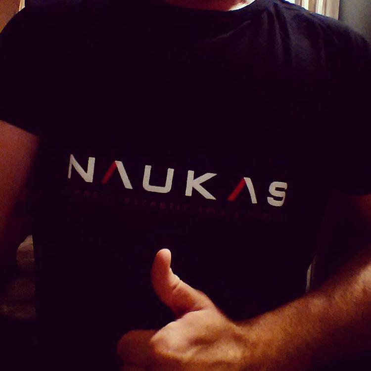 Oye @Naukas_com, que desde el sur también apoyamos #Naukas15. Buen trabajo, felicidades!