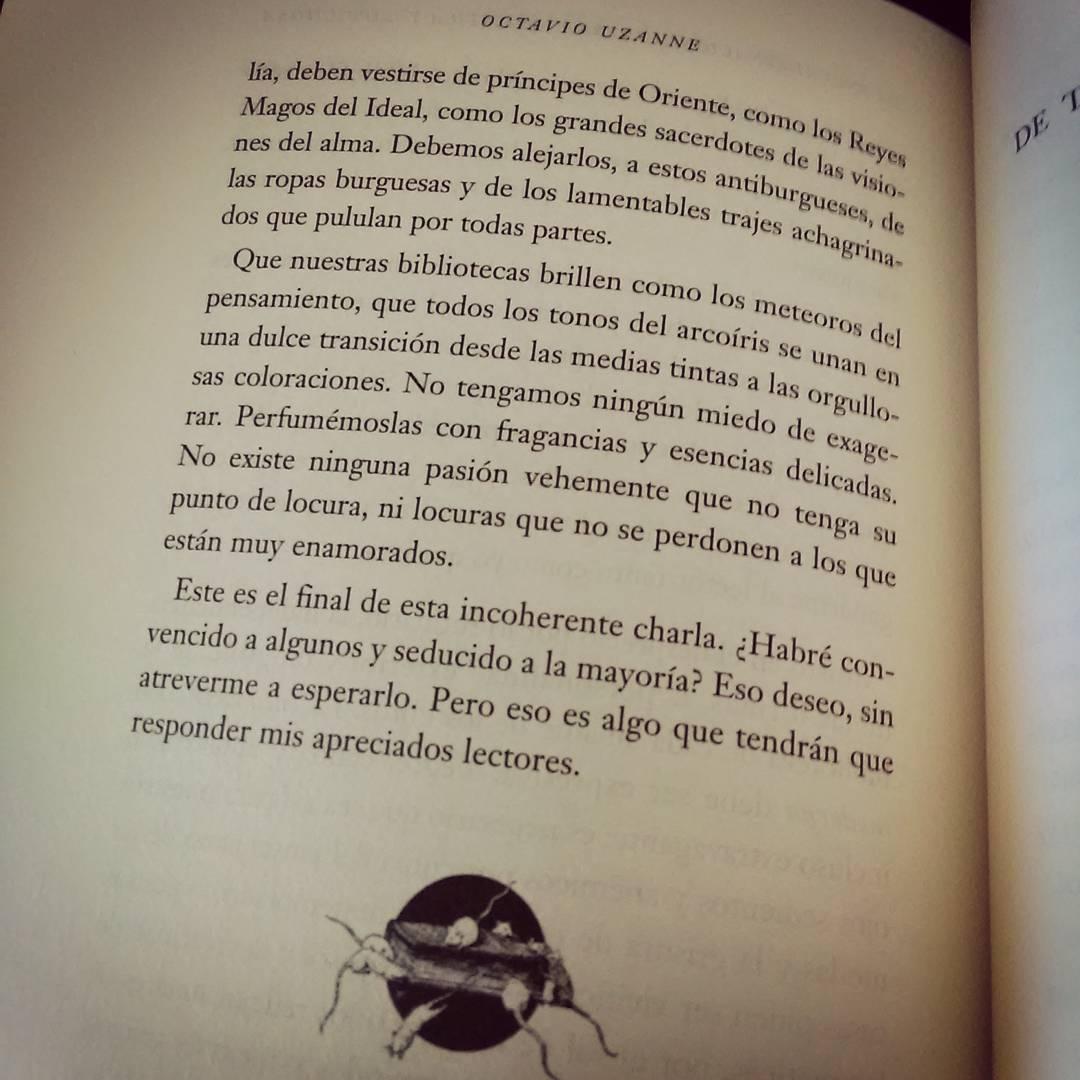 Estupendo colofón para el libro de Uzanne. #encuadernacion #bibliofrenia #libros