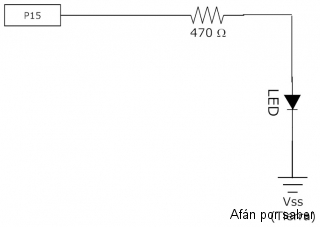 134 watermark 320x240 circuito parpadeo de led Paso 3. Circuitos LED