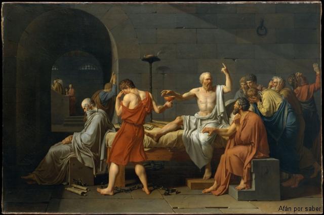 49 watermark 640x480 jacques louis david la mort de socrate 0 La muerte de Sócrates