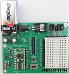 85 watermark 320x240 robotica 020 redux Paso 1: Instalación del software y conexión de la tarjeta Home Work al PC