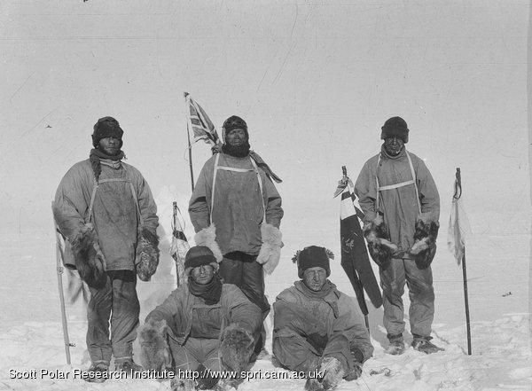 En el Polo Sur LA MUERTE HELADA