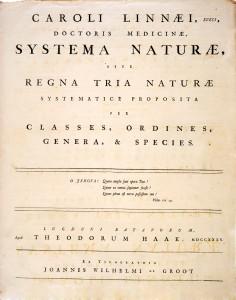 Systema naturae 236x300 CARL LINNAEUS (I)