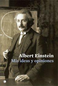 book 1021 cover Mis ideas y opiniones