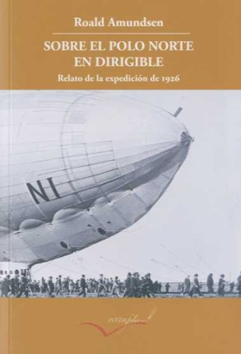 book 1312 cover Sobre el Polo Norte en dirigible
