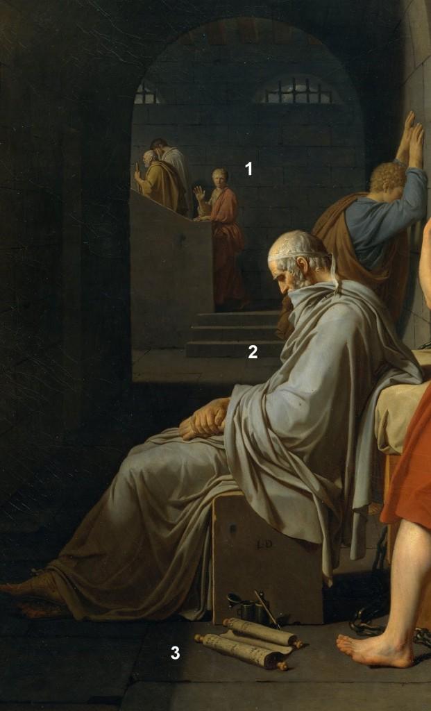 Detalle1 621x1024 La muerte de Sócrates