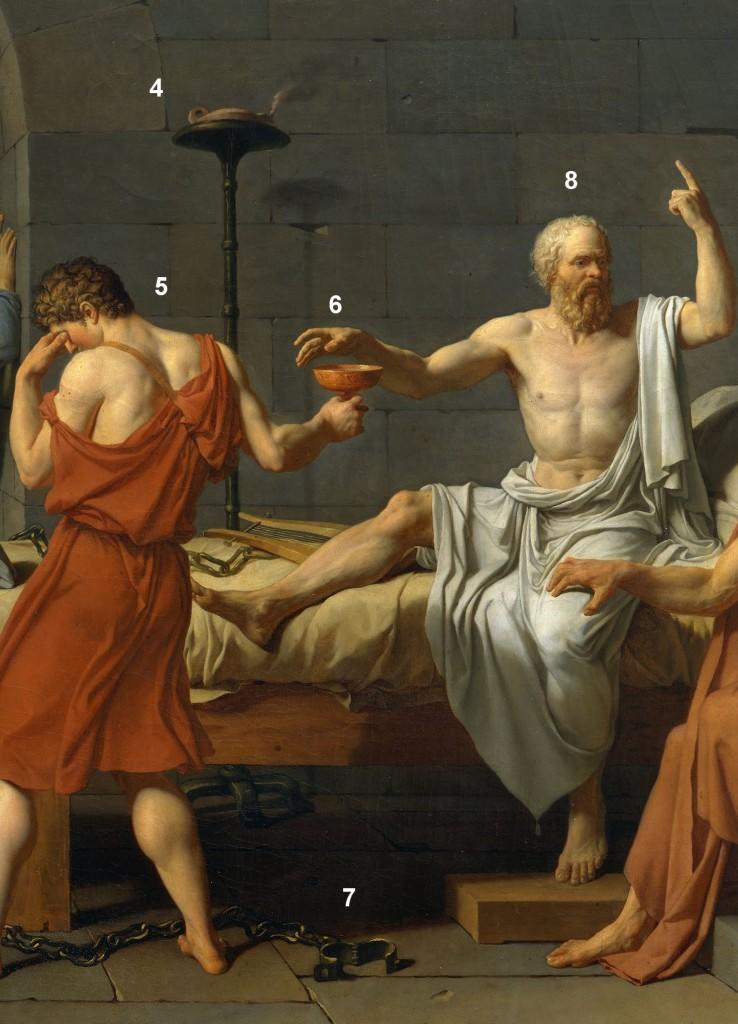 Detalle21 738x1024 La muerte de Sócrates