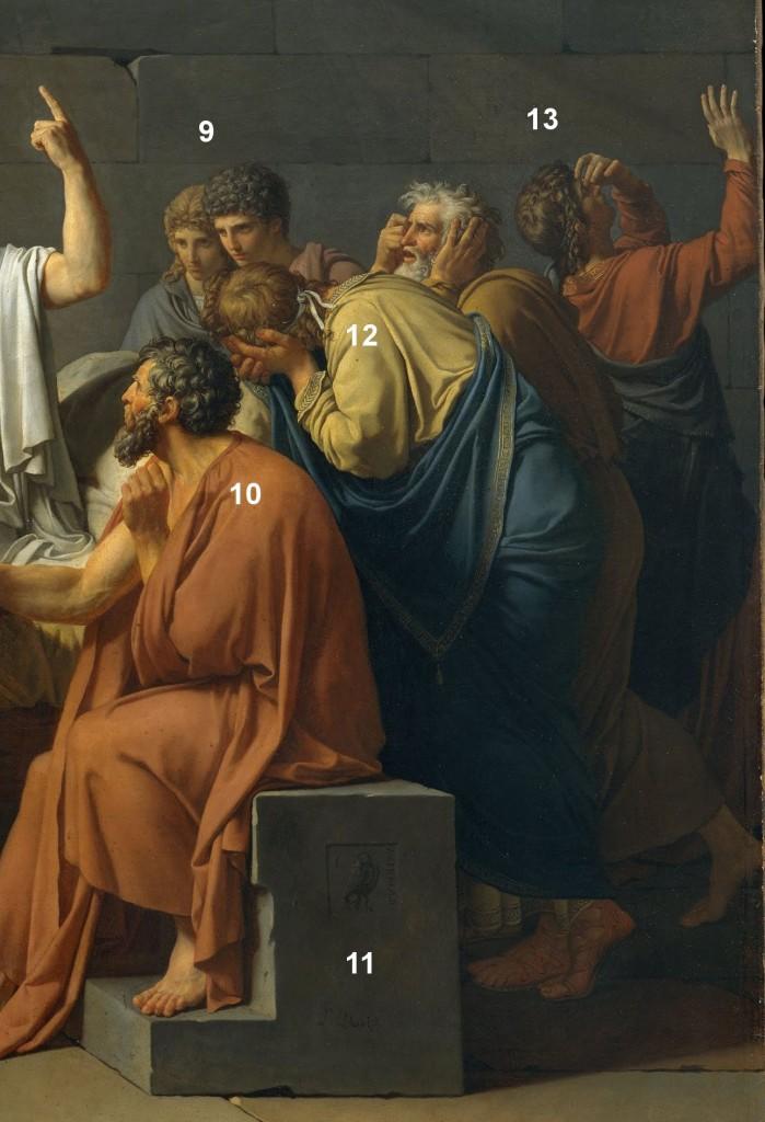 Detalle3 699x1024 La muerte de Sócrates