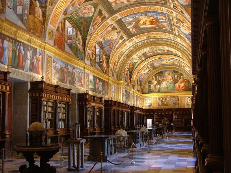 Biblioteca Escorial2 Ciencia, científicos y libros