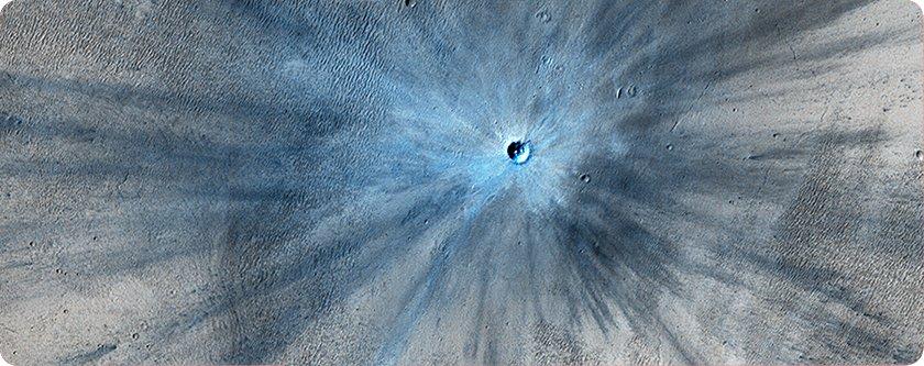 crater impacto Siete días ... 3 a 9 de febrero