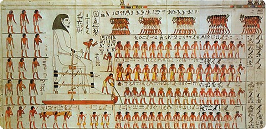 tumba de Djehuti Hotep A vueltas con los titulares tendenciosos: la construcción de las pirámides egipcias